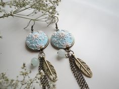 Earrings van DZHandmadeProducts op Etsy
