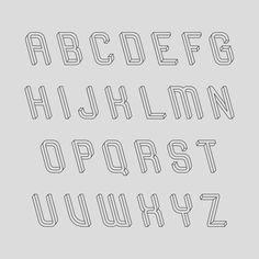 optical illusion typeface...