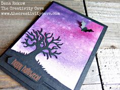 Great video on my blog for making this adorable Halloween Card using Stampin Ups…
