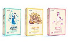 Ambiance slave pour le thé Marks & Spencer / Angleterre . Illustration . Packaging / étapes: design & culture visuelle