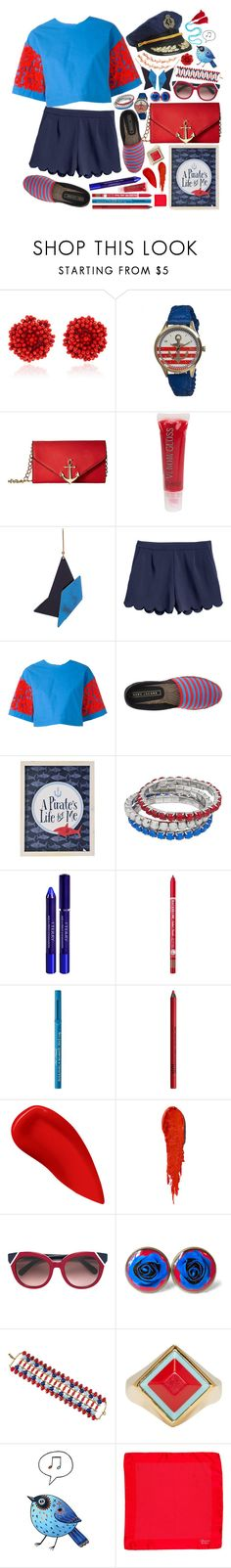 """sailor party🍷"" by issuri ❤ liked on Polyvore featuring Bibi Marini, Boum, Circus by Sam Edelman, DuWop, STELLA McCARTNEY, MSGM, Marc Jacobs, Pillowfort, By Terry and Charlotte Russe"
