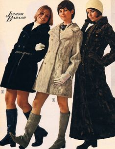 Sears catalog 70s. Cay Sanderson, Dayle Haddon and Colleen Corby.