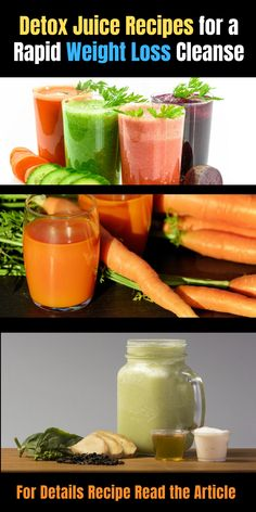The detox juice diet has come to be preferred in recent times as a simpler method to take in great deals of nutrients without needing to eat lots of whole veget Juice Cleanse Recipes, Detox Smoothie Recipes, Healthy Juice Recipes, Healthy Juices, Detox Recipes, Healthy Smoothies, Juicer Recipes, Smoothie Cleanse, Blender Recipes