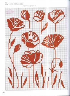 Discover thousands of images about İsim: Görüntüleme: 461 Büyüklük: KB (Kilobyte) Knitting Charts, Knitting Stitches, Knitting Patterns, Crochet Patterns, Cross Stitching, Cross Stitch Embroidery, Embroidery Patterns, Hand Embroidery, Cross Stitch Designs