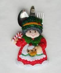 Resultado de imagen para moldes de muñecos navideños paso a paso
