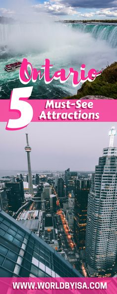 Ontario, Canada 5 must see attractions