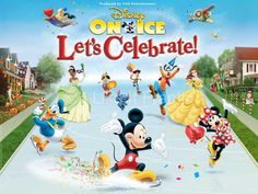 Win a  a 4 pack of tickets to Disney on Ice Patriot Center, Virginia http://ilikeitfrantic.net/2013/09/disney-on-ice-lets-celebrate/