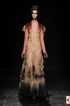 The entire, bloody amazing dress