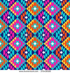 Find Tribal Seamless Colorful Geometric Pattern stock images in HD and millions of other royalty-free stock photos, illustrations and vectors in the Shutterstock collection. Cross Stitch Charts, Cross Stitch Patterns, Tapete Floral, Graph Paper Drawings, Pixel Color, Donia, Ukrainian Art, Cute Backgrounds, Tapestry Crochet