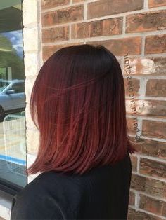 50 Red Hair Color Ideas in From ginger to gem tones, red is dependably a striking decision. And keeping in mind that it may be a major change, a few specialists anticipate we'll. Red Ombre Hair, Dyed Red Hair, Bright Red Hair, Red Hair Color, Cool Hair Color, Dark Red Ombre, Red Hair Dark Roots, Dark Hair, Red Hair Inspo