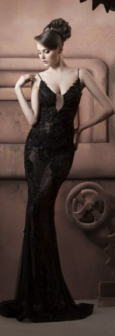 Hassan Mazeh evening dress