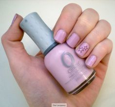 Orly Lollipop - cheerful lavender nails