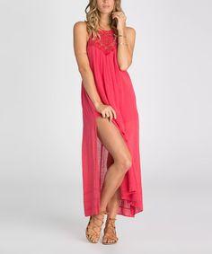Loving this Wild Berry Paisley Midsummer Tides Maxi Dress on #zulily! #zulilyfinds