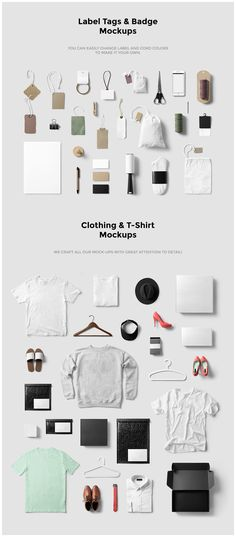 Clothing / Fashion / T-Shirt Mockup by forgraphic™ on @creativemarket