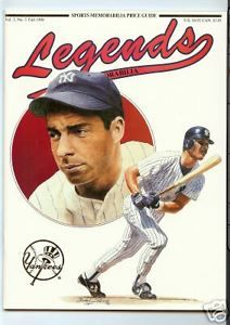 joe dimaggio legend | JOE-DIMAGGIO-LEGENDS-MAGAZINE-1990-W-UNCUT-SPORT-CARDS-SHEET-W-MICHAEL ...