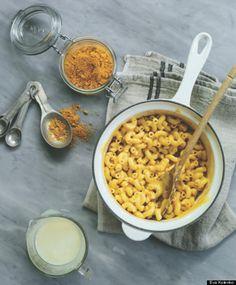 Homemade macaroni and cheese mix.