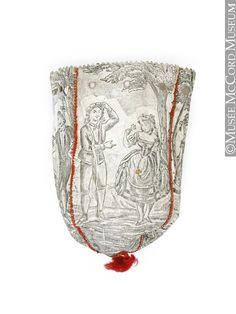 Bag, reticule, 1800-1825, 19th century