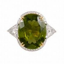 Image result for Peridot Rings