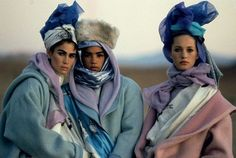 Kenzo 1985 Campaign, Photography Peter Lindbergh. | AnOther Loves