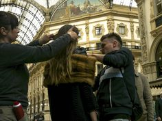 Deni Cler Milano, aw 2016/2017, campaign, backstage. Deni Cler - inspired by Italian style since 1972.