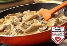 Creamy Dijon Chicken with Mushrooms & other heart healthy recipes from Campbell's