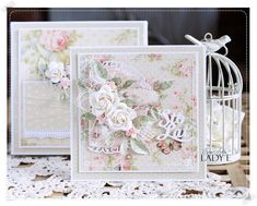 Scrap Art by Lady E: For Mum Card & Box