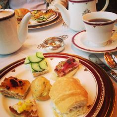 Afternoon tea at the Inn on Biltmore Estate, Asheville, NC