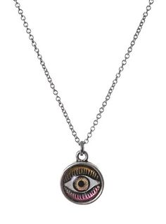 Sparkle In Your Eye Pendant by Plasticland Jewelry, Jewelry, Silver