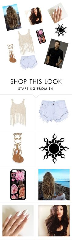 """Going to Cali with Justin"" by brynn-gaudet on Polyvore featuring One Teaspoon and Steve Madden"
