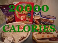 20000 Calorie Challenge For One Million Views Extreme Edition Youtube One In A