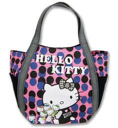 2458ee133a53 Hello Kitty X AmonnLisa Print Tote Bag little