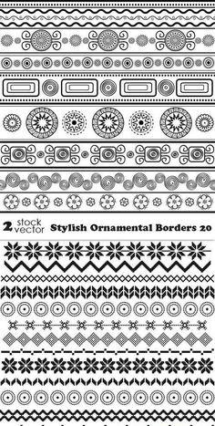 Bordes y margenes ornamentales