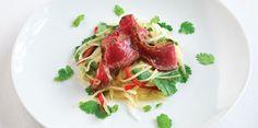 Thai Beef salad Recipe from P & O Cruises