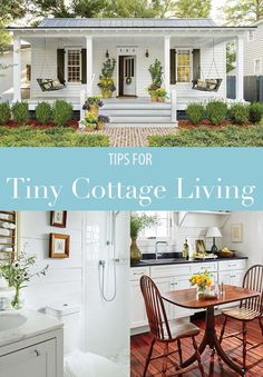 6 Tips for Living in a 660 Square Foot Cottage Tiny houses Square