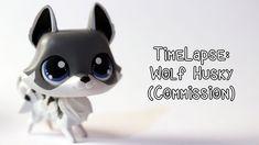 Custom Lps, Little Pet Shop, Piggy Bank, Husky, Costumes, Pets, Character, Fimo, Money Box