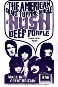 Deep Purple advert Rock Posters, Concert Posters, Music Posters, Rock Album Covers, 60s Music, Metal Albums, British Rock, Rock Groups, Purple Band