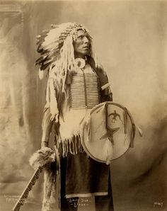 American Indians : Swift Dog - Oglala 1898.