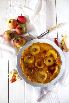 Behyflora - food lifestyle photography - der vegetarische Foodblog mit Pfiff: {Herbst} von Hirse und Apfel-Karamell-Pfannkuchen