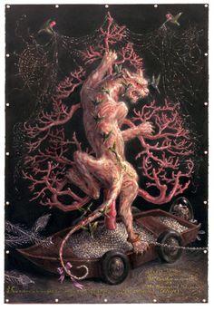 Surrealism and Visionary art: Thomas Woodruff Weird And Wonderful, Fantastic Art, Awesome Art, Yule Celebration, Dark And Twisted, Magic Realism, Inspirational Artwork, Pop Surrealism, Visionary Art