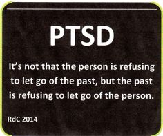 This is the most difficult thing to explain to people who don't understand cPTSD/PTSD. We may work hard all our lives to let go and heal but the trauma is being held in our bodies by our bodies.  Our bodies are calling the shots and will heal and release the trauma when the time is right.