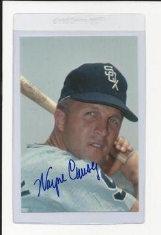Wayne Causey Chicago White Sox Signed Auto 4x6 Photo Autograph | Sports Mem, Cards & Fan Shop, Autographs-Original, Baseball-MLB | eBay!
