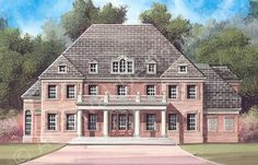 Raewood - House Plan - Traditional - Front Rendering
