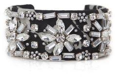 Isabel Marant Black Marchisette Bracelet