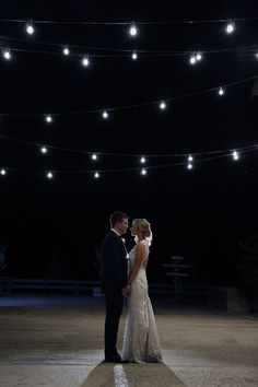 When the sun goes down over the Yarra Valley, fairy lights create magic - Zonzo Weddings