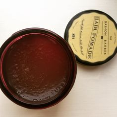 Inside our No.1 Hair Pomade - this pomade is formulated specially with bee propolis and raspberry silicon to help prevent hair loss and nourish the scalp #TheDaimonBarber #No1Pomade #Pomades #grooming #smellslikeheavenholdslikehell