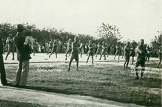 Nanjing, Wushu demonstration | Photograph taken in May 1933 by Karl Theodor Martin. Martin was a German military adviser to the Chinese National Government under Chiang Kai-shek. For further information about him, check the set 'China, German Military Adviser'.