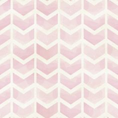 Rose Chevron Removable Wallpaper - use this peel-n-stick wallpaper behind Emily's bed instead of painting the wall. $68 for 20inx8ft