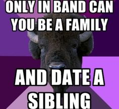 -So weird. Yet so, so true. Marching Band Problems So weird. Yet so, so true. Marching Band Problems See it Band Nerd, Band Mom, Love Band, Band Puns, Nerd Geek, Marching Band Jokes, Marching Band Problems, Flute Problems, Marching Band Couples