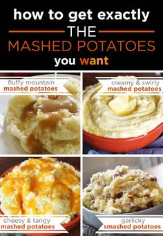 How To Get Exactly The Mashed Potatoes You Want This Thanksgiving