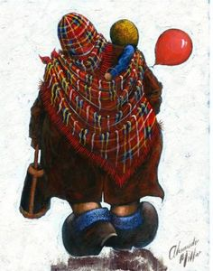 Alexander Millar -The Acorn Gallery - Beautiful and Unique Artwork Painting People, Figure Painting, Impressionist Artists, Red Balloon, Artist Canvas, Contemporary Artists, Lovers Art, Drawing Sketches, Comic Art